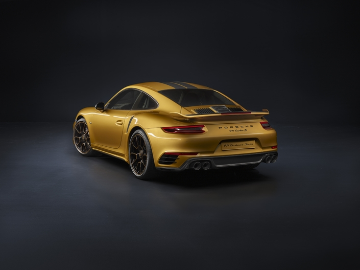 La Porsche 911 passe la barre des 600 ch avec la Turbo S Exclusive Series