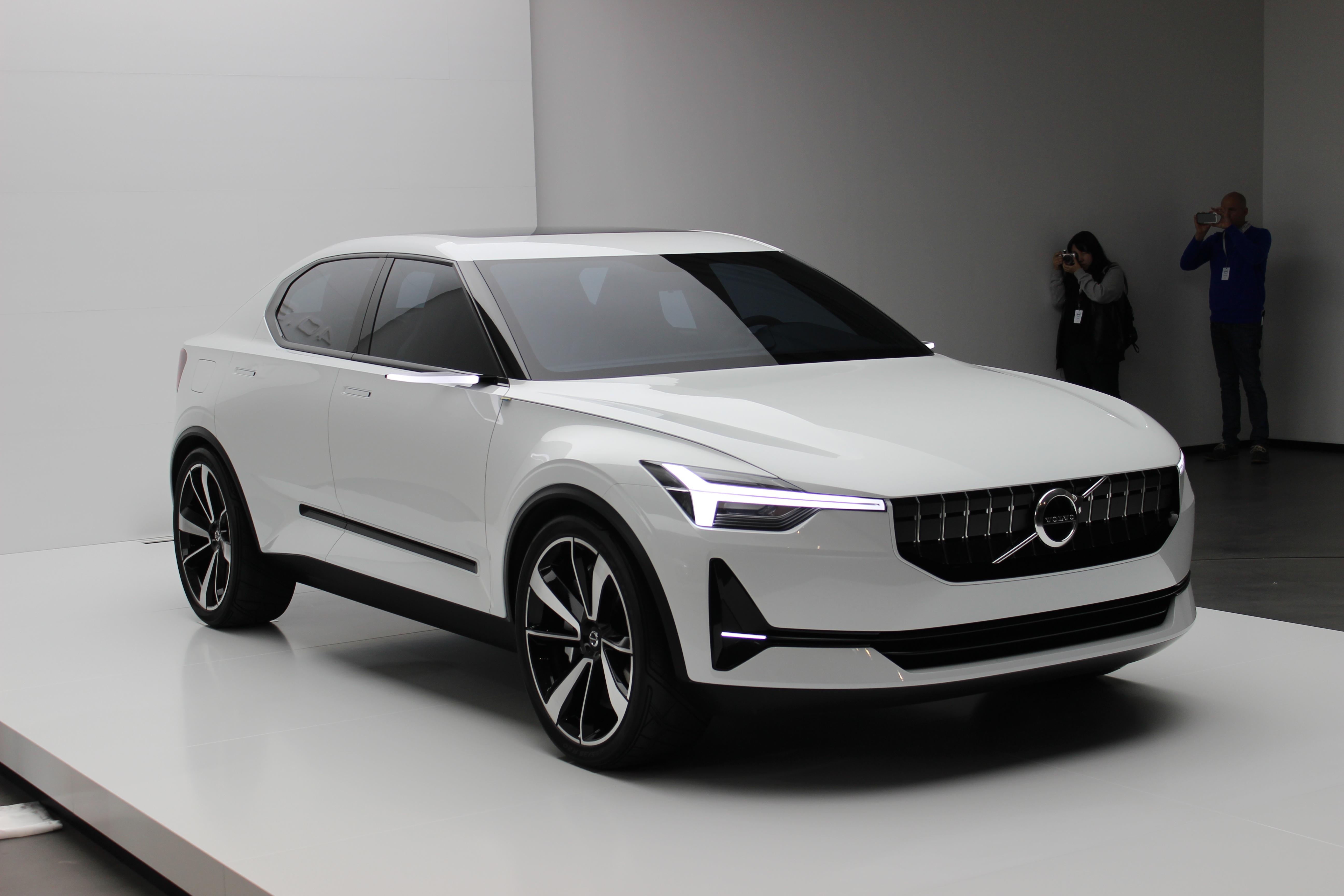 Volvo Annonce Ses Futures Compactes Avec Les Concepts 40 1