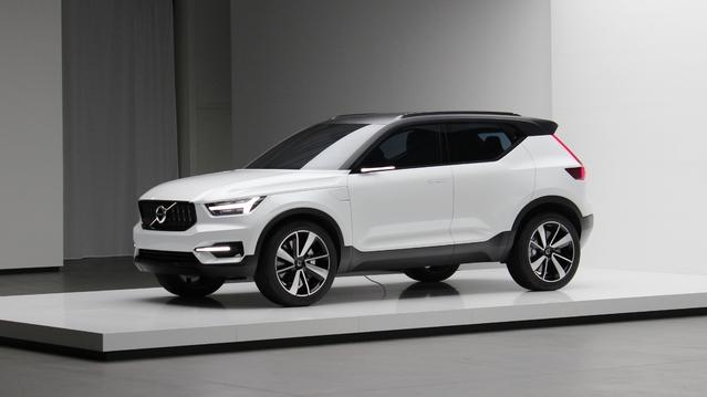 Volvo annonce ses futures compactes avec les concepts 40.1 et 40.2: alléchants