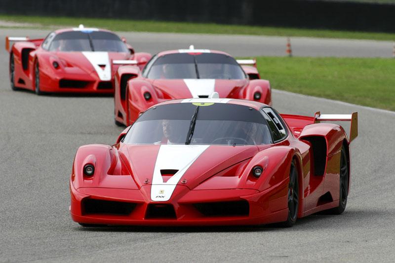 Скоро состоится аукцион по продаже уникального автомобиля Ferrari FXX с двигателем мощностью 800 л.с...