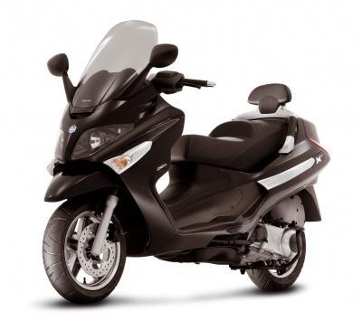 Scooter: Piaggio XEvo. Des chiffres aux lettres.