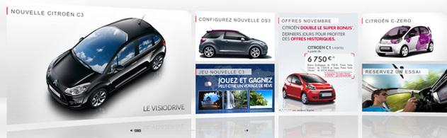 [Dossier] Citroën met en oeuvre sa nouvelle stratégie web