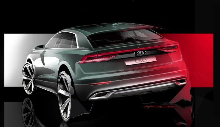 Teaser: Audi donne un aperçu du Q8