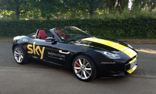 Jaguar s'associe à la victoire de Chris Froome