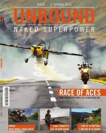 Unbound n°2: le magazine KTM est arrivé en concession