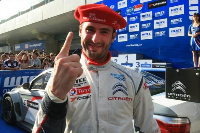 WTCC - Citroën champion du monde dès sa première année d'engagement!