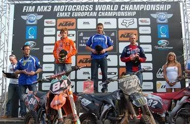 Christophe Charlier gagne la première épreuve de l'Europe MX2