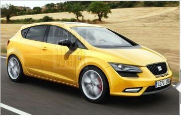 Futur Seat Leon : esquisse surprise