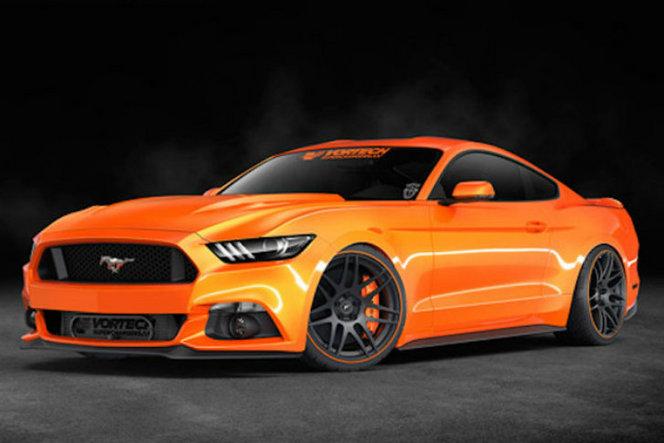La Ford Mustang Vortech promet 1200 ch