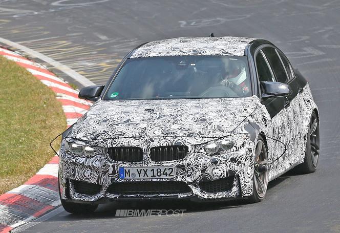 Surprise en vidéo : la future BMW M3 à l'attaque sur le Ring