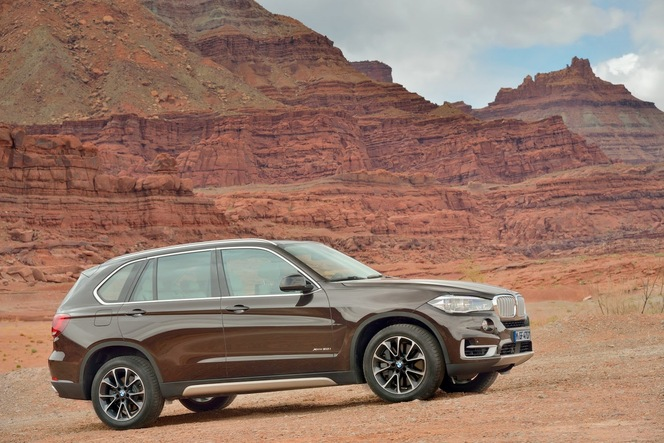 Toutes les nouveautés du salon de Francfort 2013 – BMW X5 : high-tech