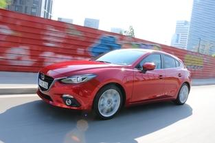 Le châssis de la Mazda 3 est parmi les mieux équilibré