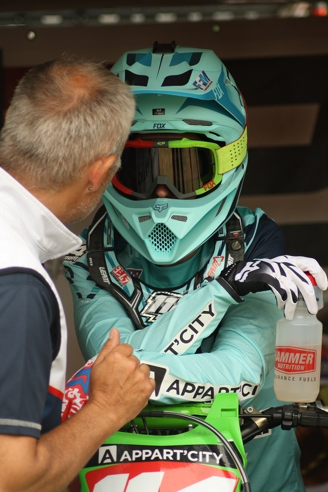 WMX - France : Van De Ven devant Livia Lancelot
