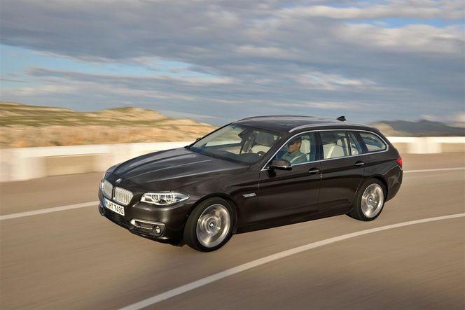 Toutes les nouveautés du salon de Francfort 2013 – BMW Série 5 restylée : upgrading