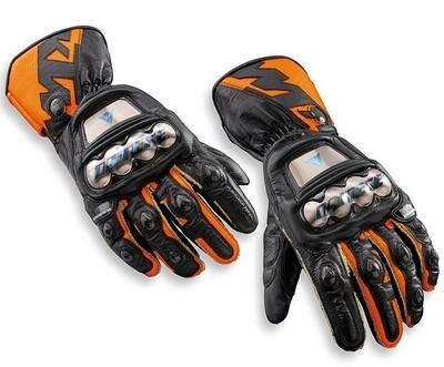 KTM R-Gloves: les gants qui font piquer les yeux...