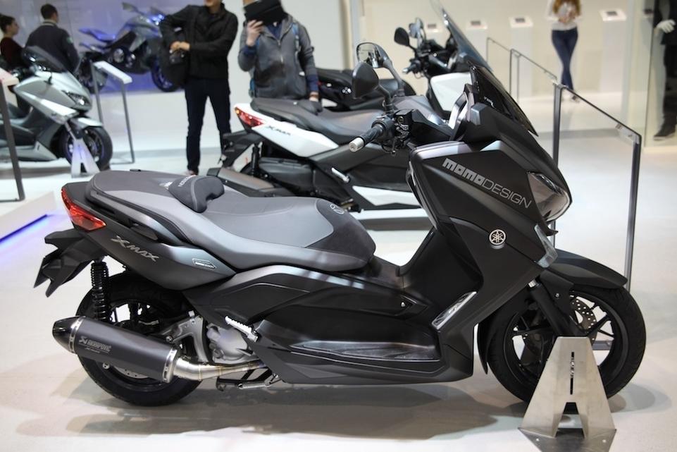 En direct de l'EICMA : Yamaha X-Max série Momo Design