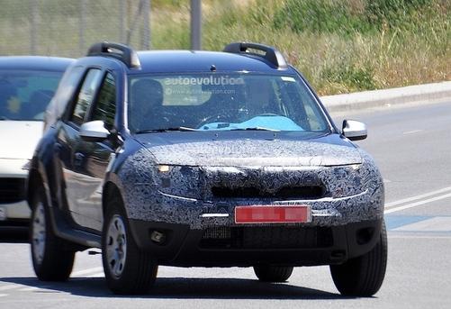 Toutes les nouveautés du salon de Francfort 2013 – Dacia Duster restylé : prudent