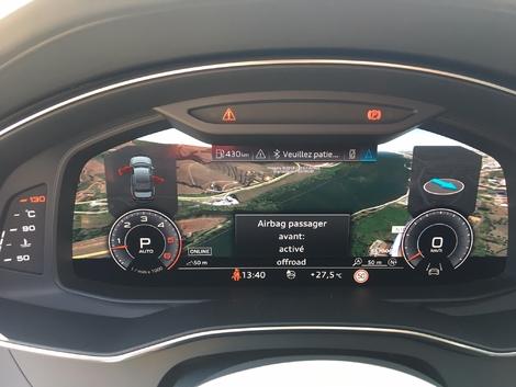 Nouvelle Audi A6 : les premières images de l'essai en direct + impressions de conduite