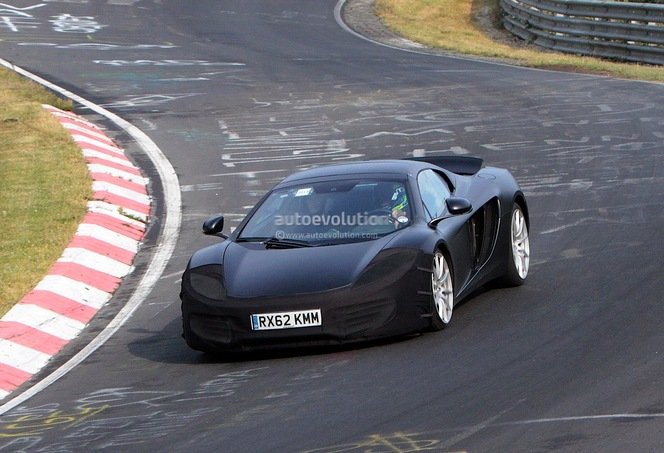 Surprise : un restyling pour la McLaren MP4-12C