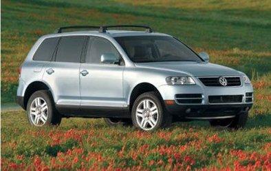 Le VW Touareg 2007 muscle son jeu en 2006