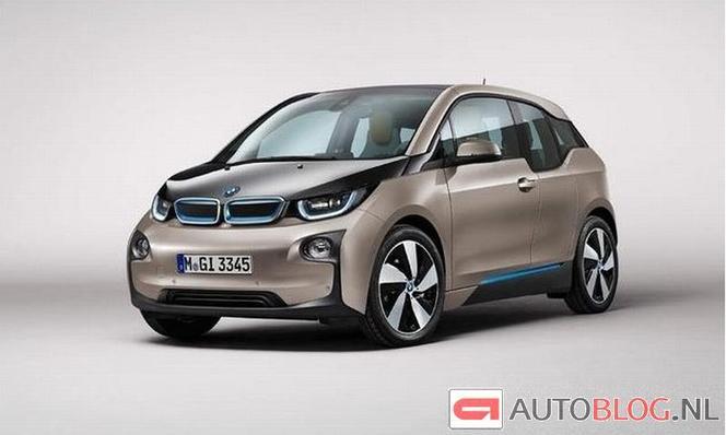 Voici la BMW i3 entièrement nue