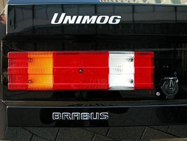 Brabus U500, l'Unimog fashion