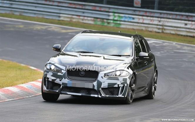Surprise : Jaguar prépare une XFR-S Sportbrake