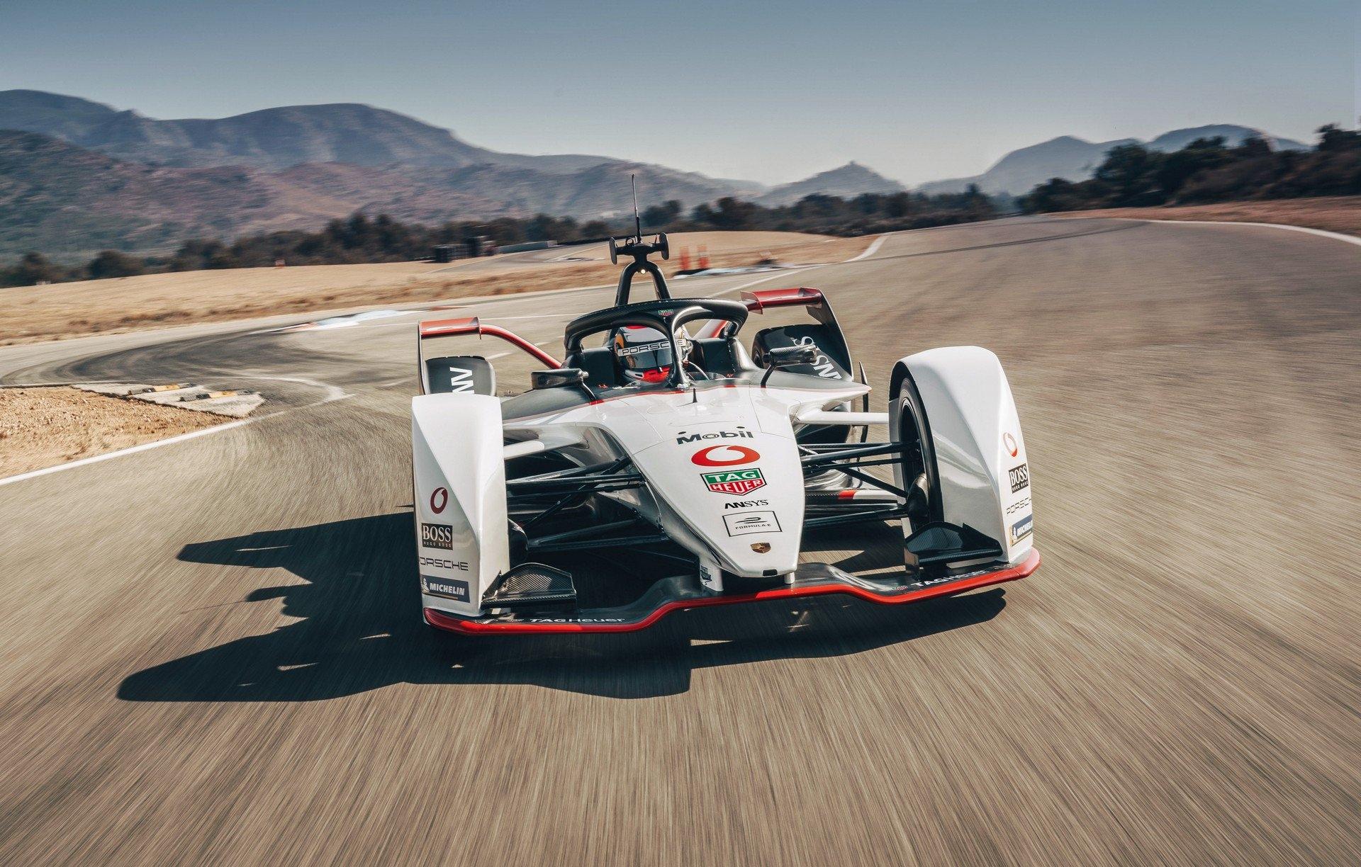 Porsche Devoile Sa Monoplace De Formula E