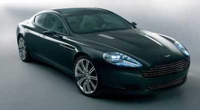 Aston Martin Rapide: 1ère image officielle