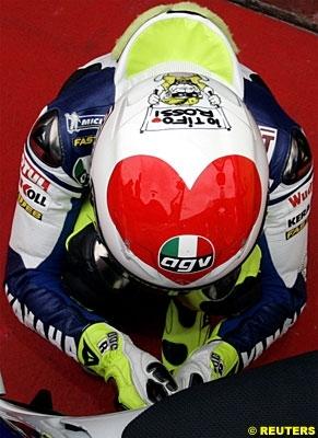 Moto GP: Italie D.3: Rossi, maître chez lui.