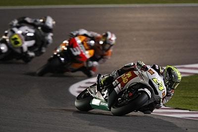Moto GP - Qatar: Elias tique