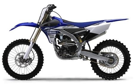 Yamaha gamme tout-terrain 2017: YZ250F