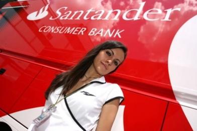 Formule 1 - Ferrari: Santander arrivera en 2010 et voudrait travailler avec Alonso