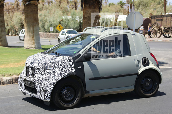 Surprise : la future Smart Fortwo de retour