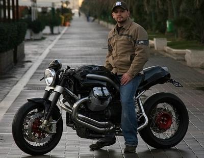 Moto Guzzi Griso revisitée par Firestarter
