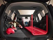 """Une longueur de chargement pouvant aller à plus de 2,8 mètres avec le siège avant en mode """"tablette"""""""
