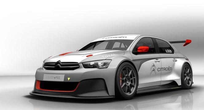 Voici enfin la C-Elysée WTCC de Sébastien Loeb
