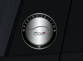 """Fiat débute les ventes du  500X avec la série """"Opening Edition"""":"""