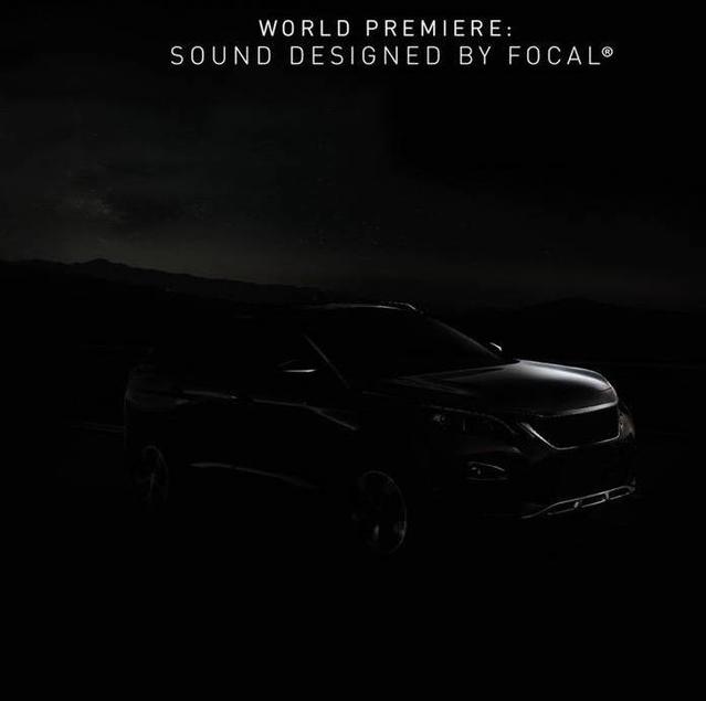 Dans l'ombre, le nouveau Peugeot 3008