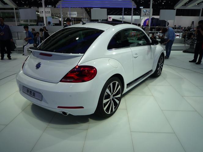 En direct du salon de Shanghai - Volkswagen Beetle : moins glamour mais plus convaincante
