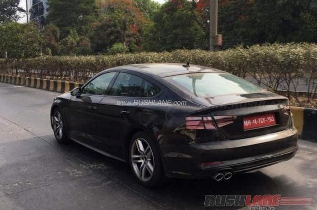 Scoop : la future Audi A5 Sportback se promène en Inde