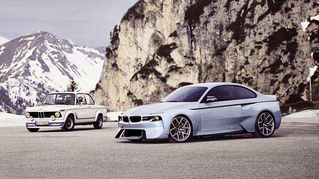 BMW : un hommage à la 2002 pour le concours de la Villa d'Este