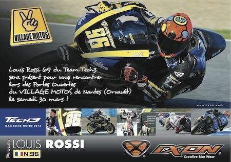 Dédicaces: Louis Rossi chez Village Motos à Nantes ce samedi 30 mars