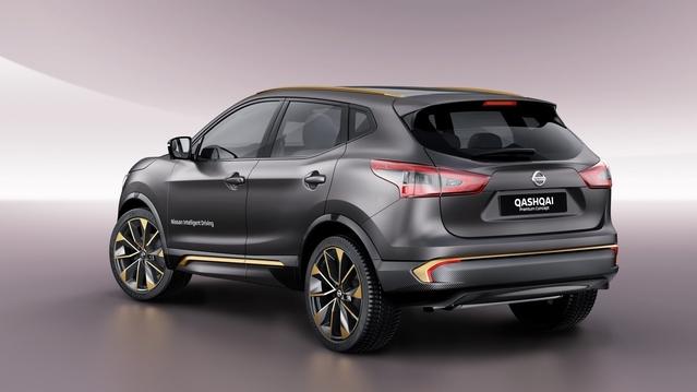 Nissan Qashqai Premium Concept - Genève 2016