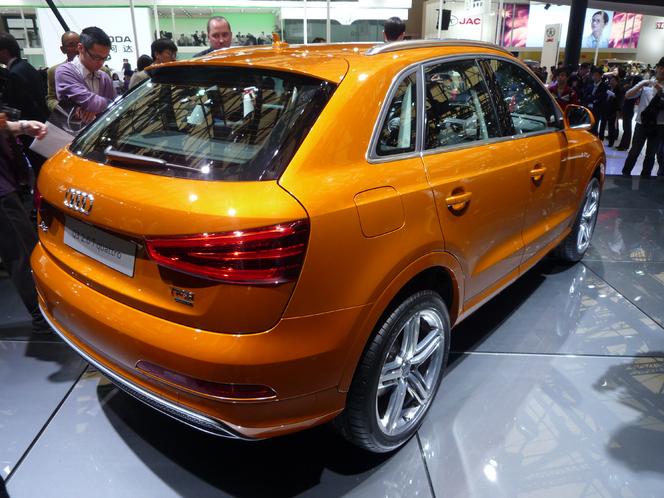 Caradisiac à Shanghai - Audi Q3 : disponible dès septembre 2011