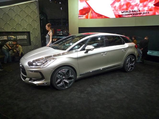 Caradisiac au salon de Shanghai - Citroën DS5 : un cap dans l'histoire de Citroën