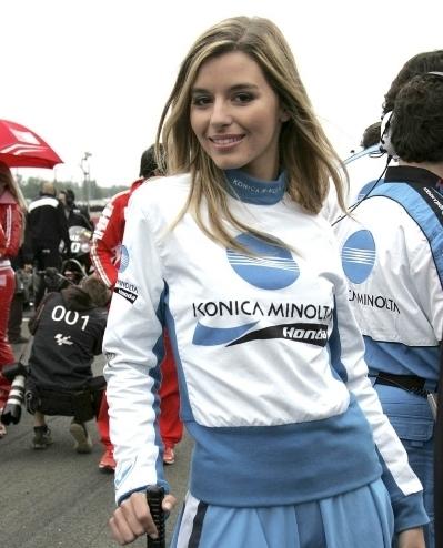Les demoiselles du Paddock : GP de France