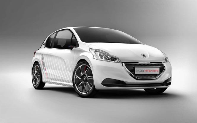 Toutes les nouveautés du salon de Francfort 2013 – Peugeot 208 Hybrid FE: un nouveau concept plus proche de la production?