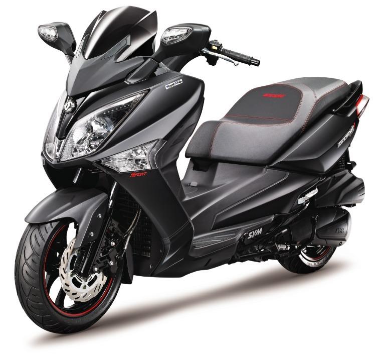 Nouveauté Scooter 2015 : Sym présente un GTS Sport