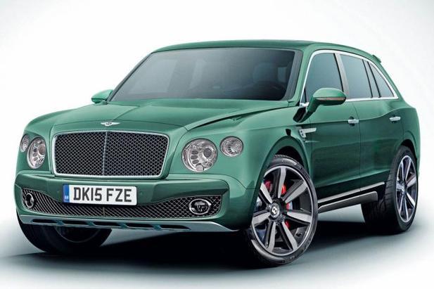 Futur Bentley SUV: comme ça?